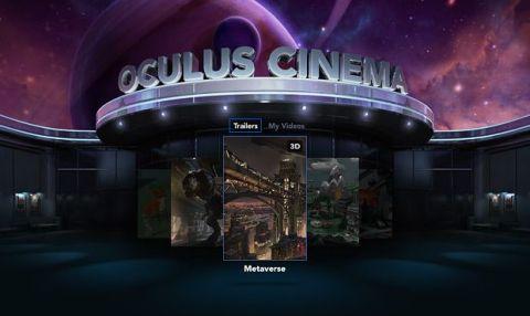 Samsung Gear VR - Oculus Cinema