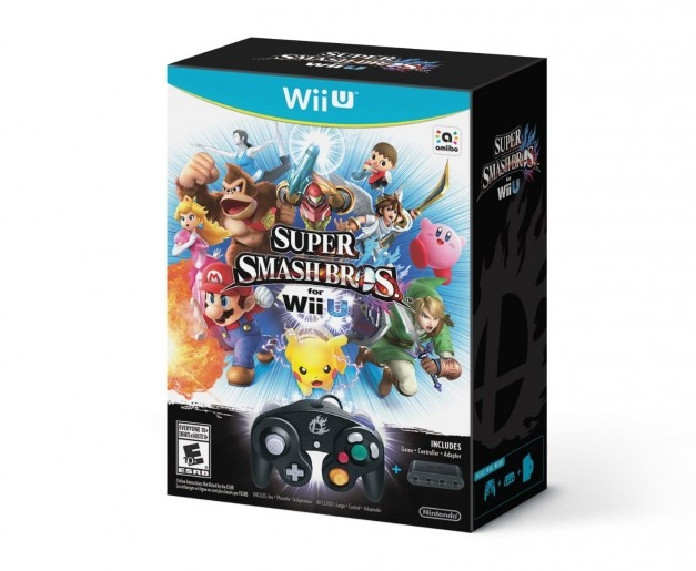 Super Smash Bros Wii U - Bundle con control GameCube
