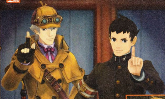 The Great Ace Attorney - Sherlock Holmes & Ryunosuke Naruhodou