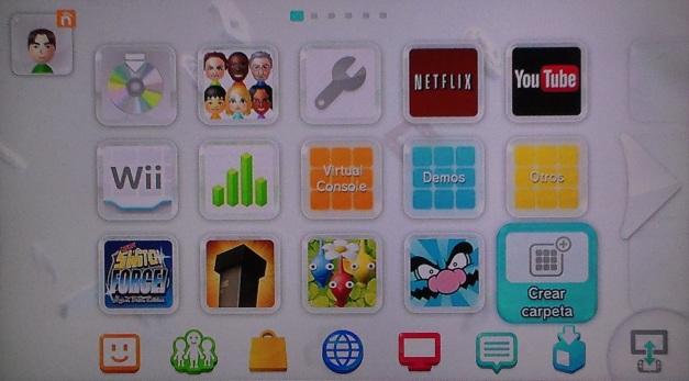 Wii U - Carpetas