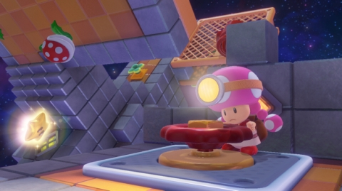 Captain Toad Treasure Track - Toadette