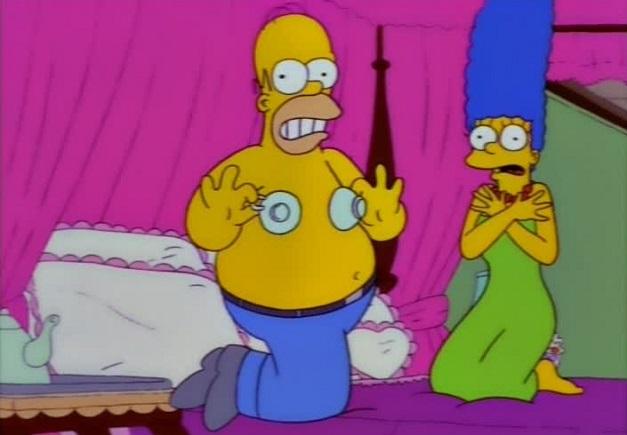 Homero Simpson - Tazas de te
