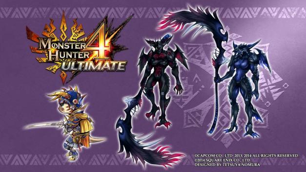 Monster Hunter 4 Ultimate - Diseños Tetsuya Nomura