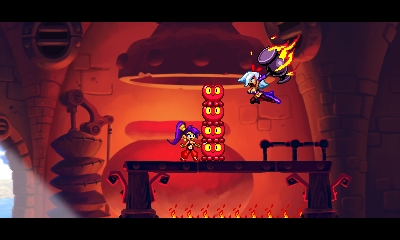 Shantae and the Pirate's Curse 3DS - Corazones