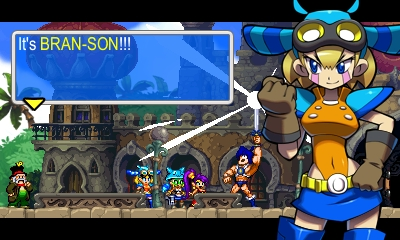 Shantae and the Pirate's Curse 3DS - Dialogos