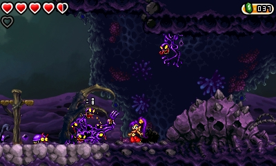 Shantae and the Pirate's Curse 3DS - Gameplay (2)
