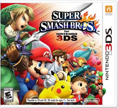 Super Smash Bros. for 3DS - Box art