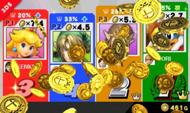 Super Smash Bros for 3DS - Coins