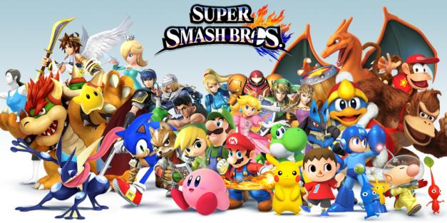 Super Smash Bros for Wii U - Personajes