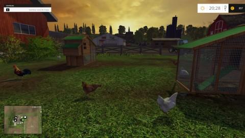 Farm Simulator 15 - Gallinero