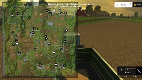 Farm Simulator 15 - Mapa