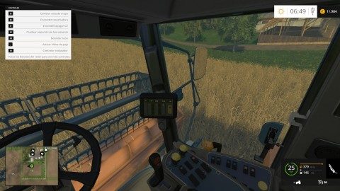 Farm Simulator 15 - Vista cabina