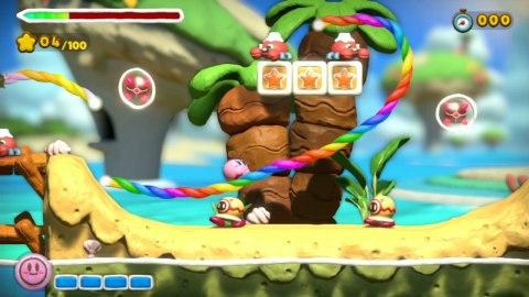 Kirby and the Rainbow Curse (Wii U) - Screenshot