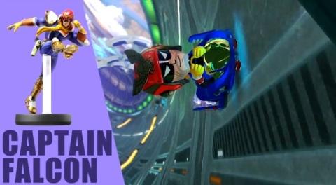 Mario Kart 8 DLC - Captain Falcon Mii