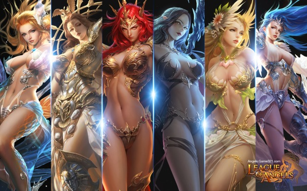 League of Angels - Chicas