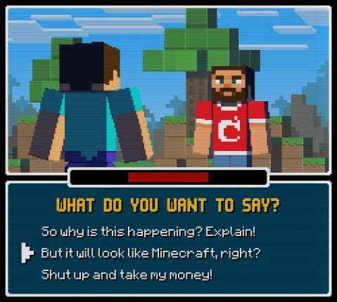 Minecraft Story Mode - Info Quest II