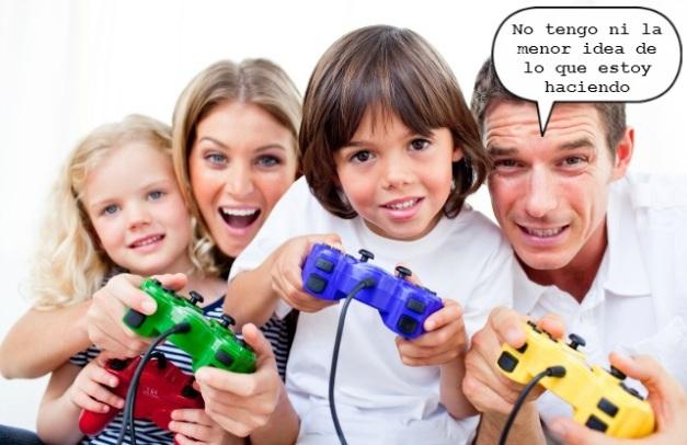 Padres videojugadores