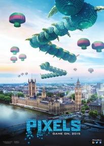 Pixels - Centipede Poster