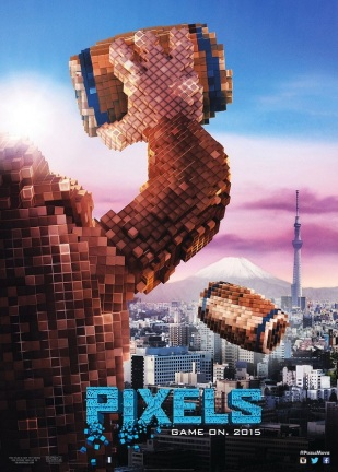 Pixels - Donkey Kong Poster