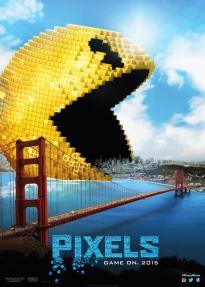 Pixels - Pacman Poster