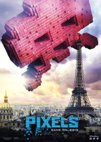 Pixels - Space Invaders Poster