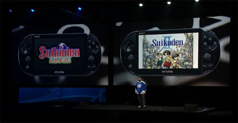 PlayStation Experience - Suikoden 1&2 PS Vita