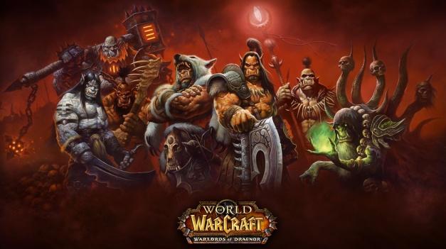World of Warcraft Warlords of Draenor - Logo