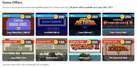 Club Nintendo - Juegos descargables 20 Enero 2015