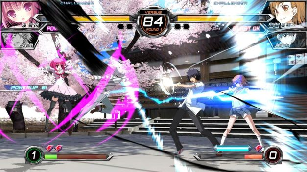 Dengeki Bunko Fighting Climax - Screenshot