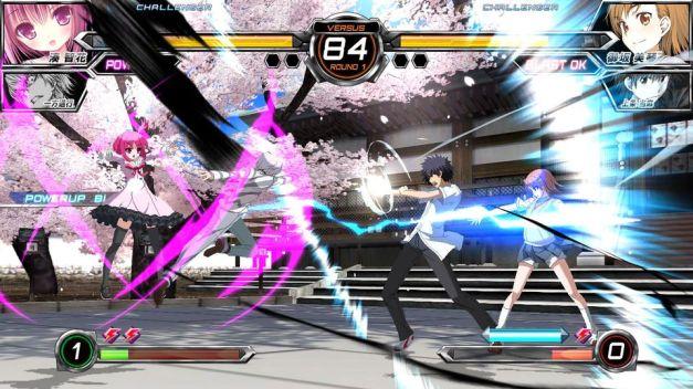 Dengeki Bunko Fighting Climax - Screenshot
