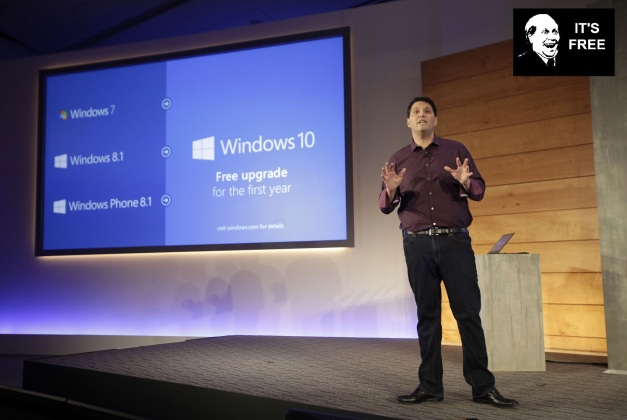 Evento Windows 10 - It's Free