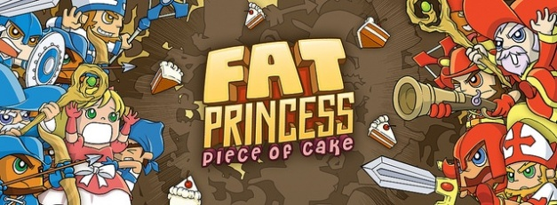 Fat Princess Piece of Cake - Logo