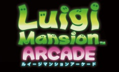 Luigi Mansion Arcade - Logo