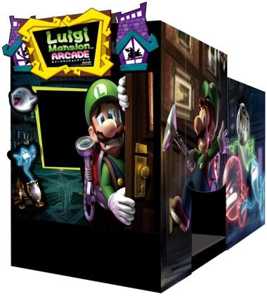 Luigi Mansion Arcade - Maquinita