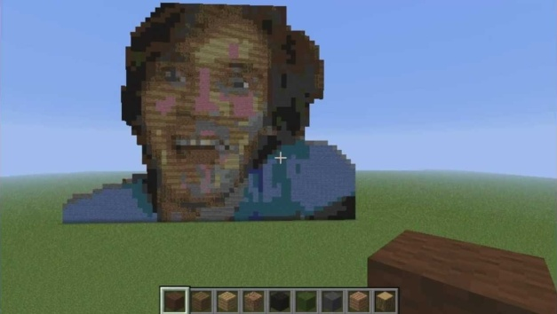 Minecraft - Cara de PewDiePie