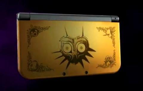 New Nintendo 3DS XL - The Legend of Zelda Majora's Mask Edition