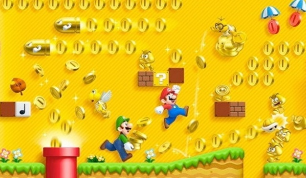 New Super Mario Bros. 2 (Nintendo 3DS) - Monedas