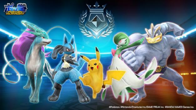 Pokkén Tournament - Suicune, Lucario, Pikachu, Gardevoir y Machamp