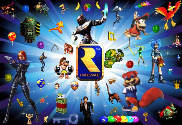 Rare - Personajes de videojuegos