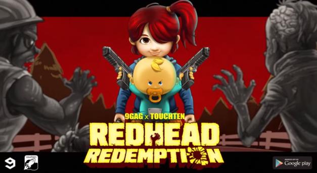Redhead Redemption - Logo