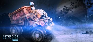 Asteroids Outpost - Arte conceptual (2)