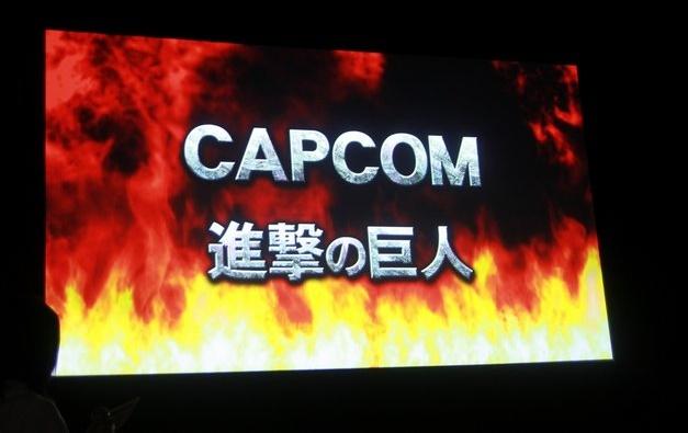 Attack on Titan Arcade - Anuncio de Capcom