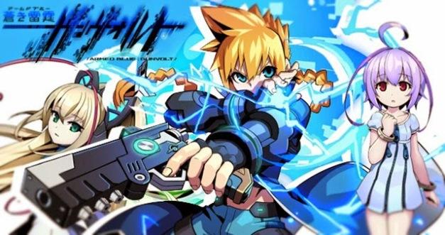 Azure Striker Gunvolt - Arte