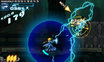 Azure Striker Gunvolt - Screenshot