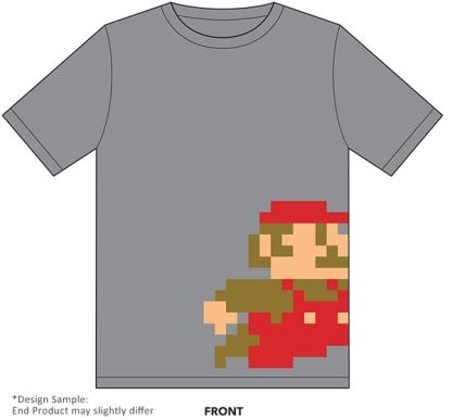 Club Nintendo - Premios fisicos Febrero 2015 (Retro Mario T-Shirt)