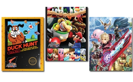 Club Nintendo - Premios fisicos Febrero 2015 (Super Smash Bros. 3-Poster Set v2)