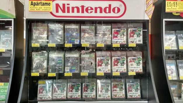 Cosa rara en juegos de Nintendo