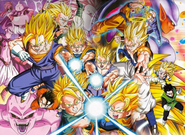 Dragon Ball Z - Transformaciones