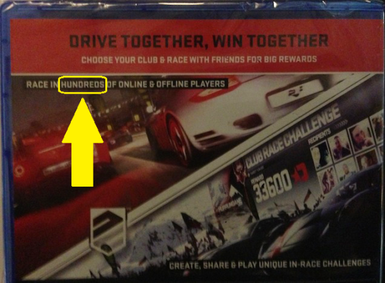 Driveclub - Premios 4to Player