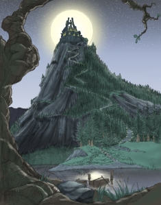 Harry Potter - Arte conceptual Nintendo (2)